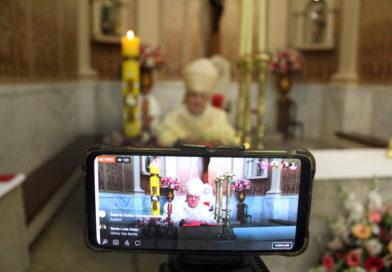 Posse Canônica do Bispo será transmitida nas redes sociais da Diocese